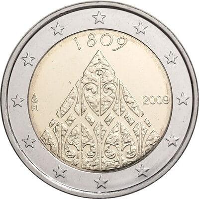 Erikoiseurot - Suomen autonomia 200 vuotta - Suomi - 2009 | Kolikot.com