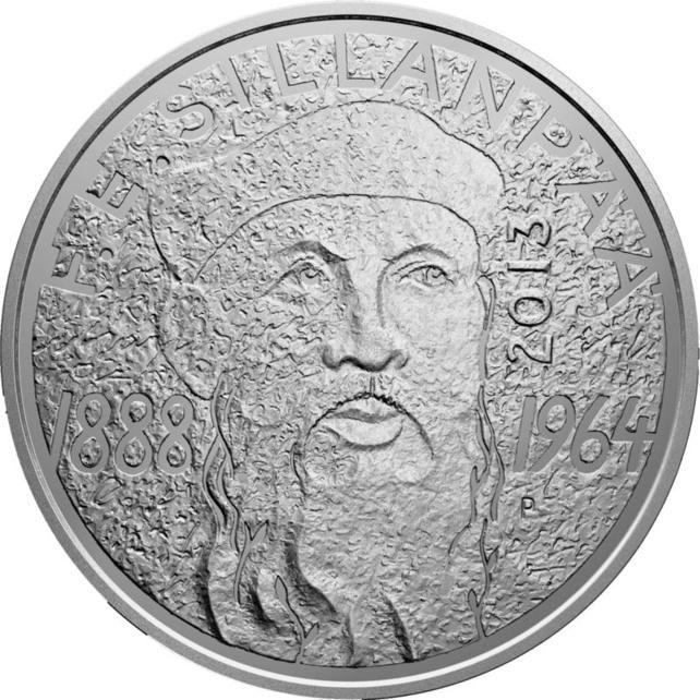 Suomen juhlarahat - F. E. Sillanpää 1888-1964 - 2013 | Kolikot.com