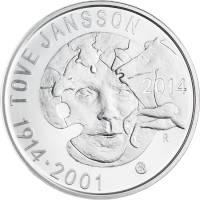 Arvokkaat 2 Euron Kolikot Tove Jansson