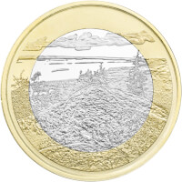 Suomen kansallismaisemat -juhlarahat: Koli