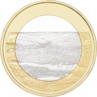 Suomen kansallismaisemat -juhlarahat: Pallastunturit